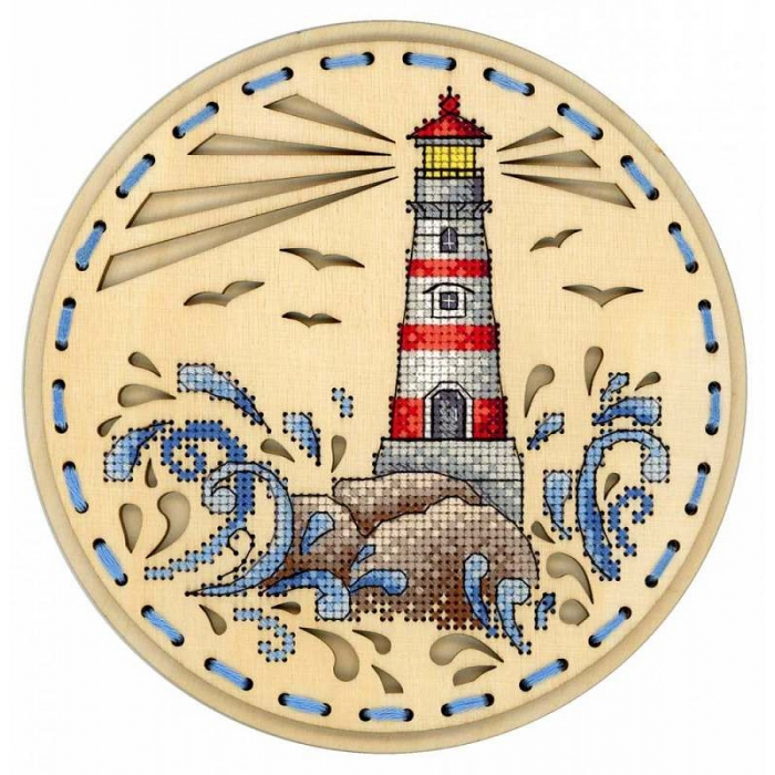 Набор для вышивания Щепка арт.О-020 Дыхание океана 18х18 см