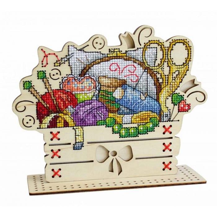 Набор для вышивания Щепка арт.О-038 Рукодельный уголок 14х17 см