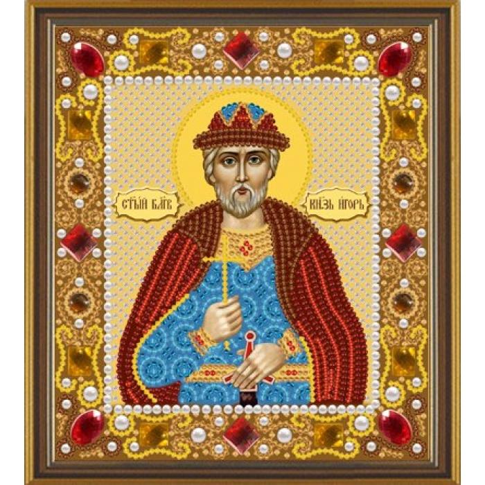 Набор для вышивания бисером НОВА СЛОБОДА арт.Д6119 Св.Великий Князь Игорь 13х15 см