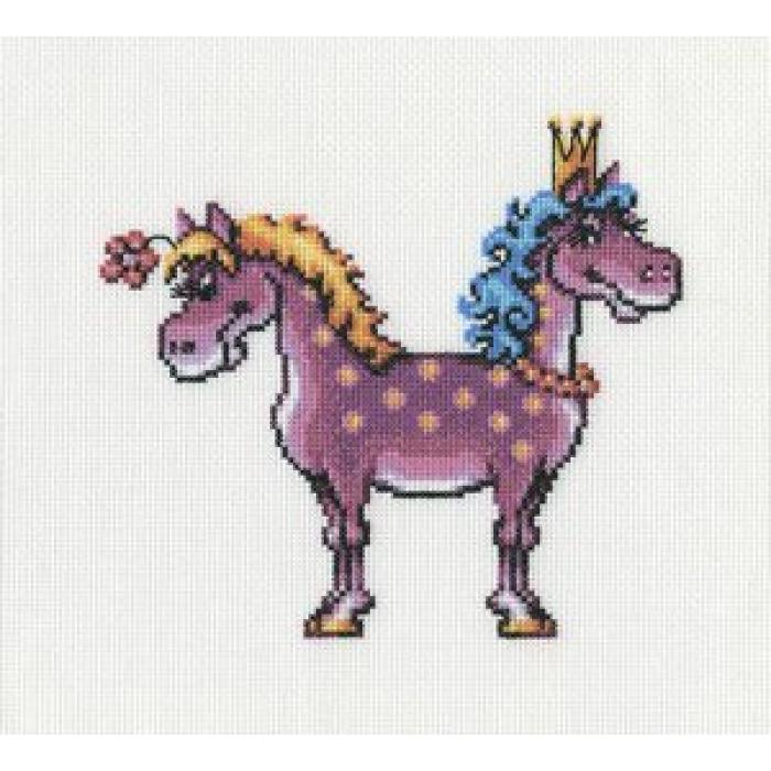 Набор для вышивания РТО арт.C205 Красивая+богатая 19х19 см