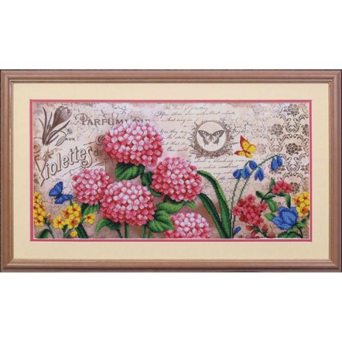 Набор для вышивания бисером МАГИЯ КАНВЫ арт.Б028 Ароматы Франции 1 24,5х50 см