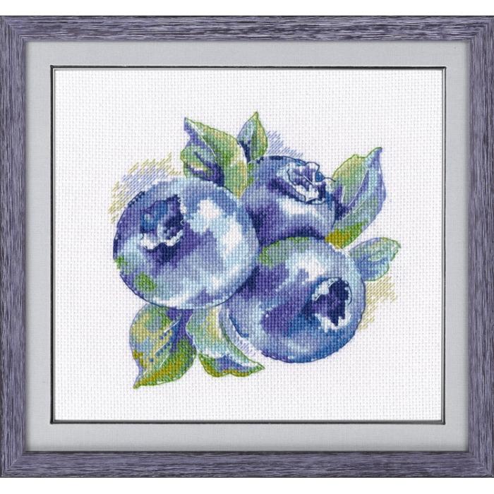 Набор для вышивания ОВЕН арт. 1090 Лесная ягода 14х14 см
