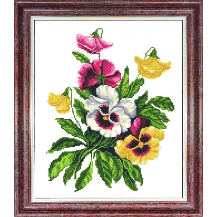 Канва с нанесенным рисунком КАРОЛИНКА арт. КК-057 Услада сердца 21х27 см