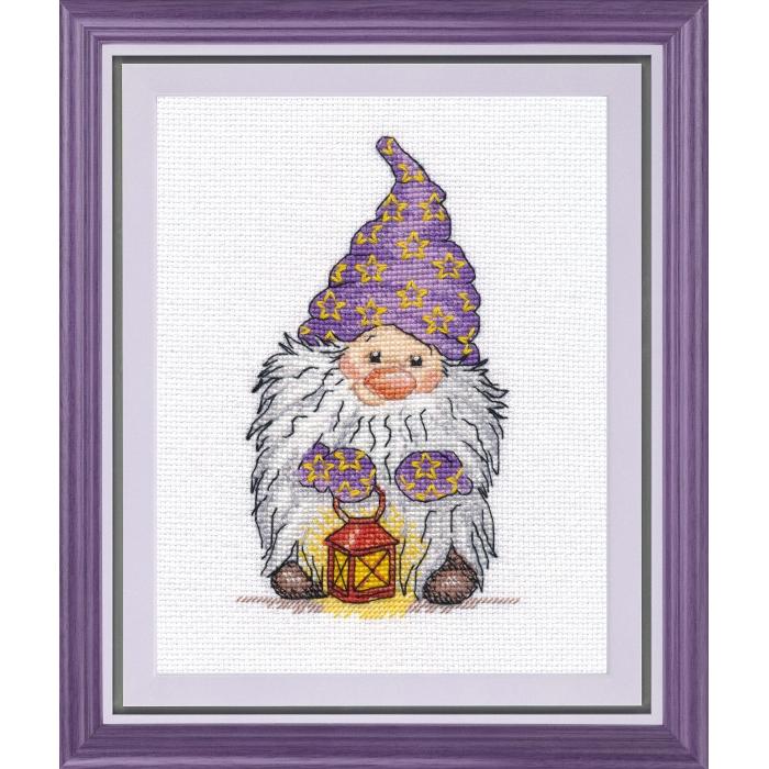 Набор для вышивания ОВЕН арт. 1046 Хранитель света 9х14 см