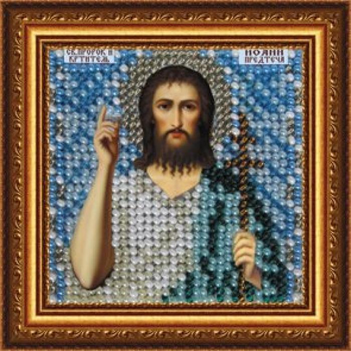 Набор для вышивания ВЫШИВАЛЬНАЯ МОЗАИКА арт. 083ПМИ Св.Иоанн Предтеча 6,5х6,5см