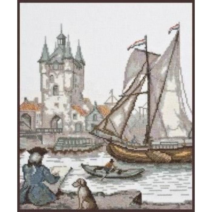 Набор для вышивания ПАЛИТРА арт.07.009 Голландский художник 23х26 см