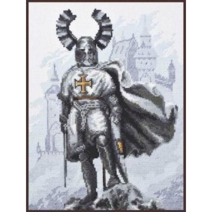 Набор для вышивания ПАЛИТРА арт.07.012 Рыцарский замок 20х26 см