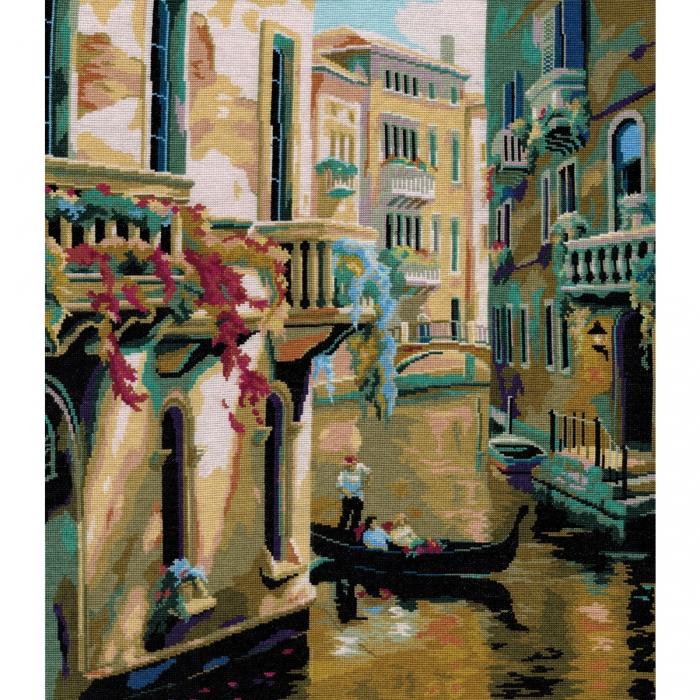 Набор для вышивания мулине НИТЕКС арт.0098 Венеция 38х45 см