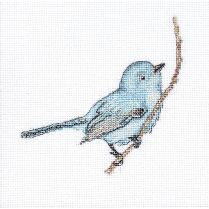 Набор для вышивания LUCA-S арт. B11588 Певчая птица 11,5х11,5 см