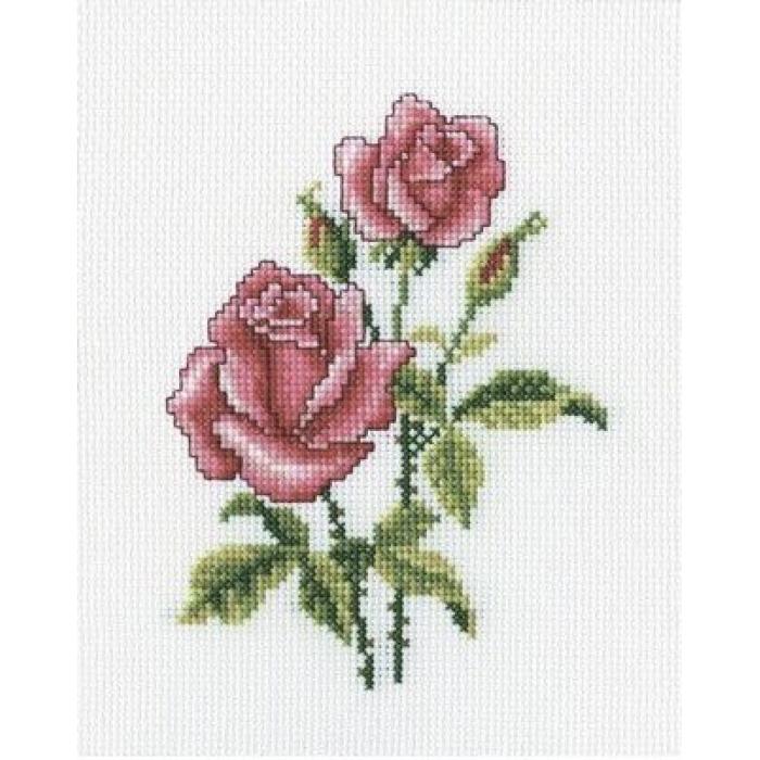 Набор для вышивания РТО арт.C185 Розы 13х17 см