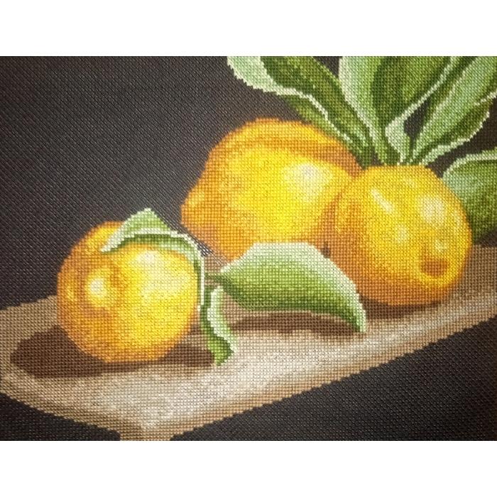 Набор для вышивания ИВАНКА арт.0-06 Лимоны на столе 25х19см