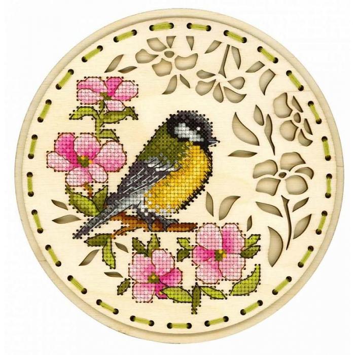 Набор для вышивания Щепка арт.О-041 Встреча весны 18х18 см