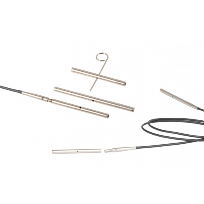 10510 Knit Pro Набор кабельного соединения (в наборе: соединитель (35мм 2шт, 50мм 1шт), ключик)