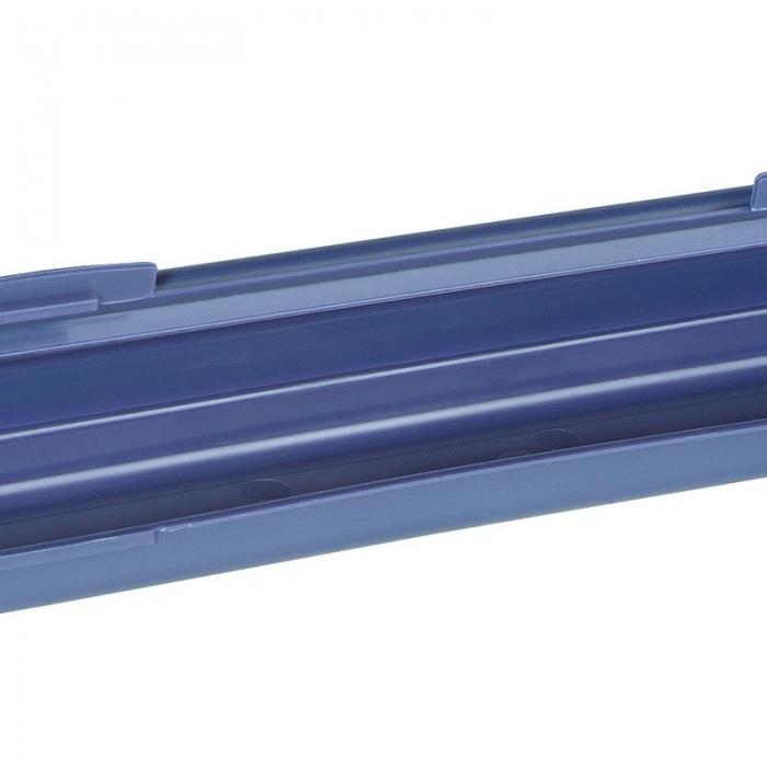 611850 PRYM Пенал д/спиц пластик 60х415мм цв. синий