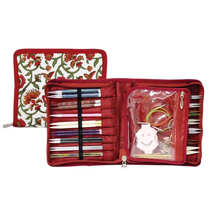 12001 Knit Pro Органайзер Aspire 14,5х16,5см (в закрытом виде) 29х16,5см (в открытом виде) ткань