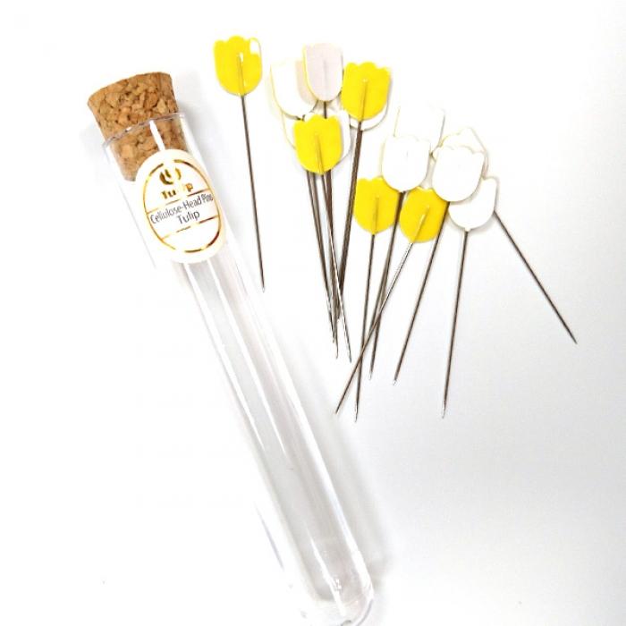 Tulip Булавки для шитья арт.THN.074E Tulip 0,55х48мм, сталь, уп.15шт.