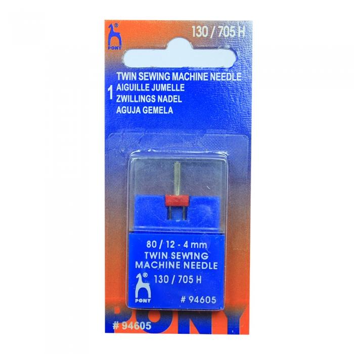 94506 PONY Игла машинная двойная № 90, 4,00 мм уп.1 игла
