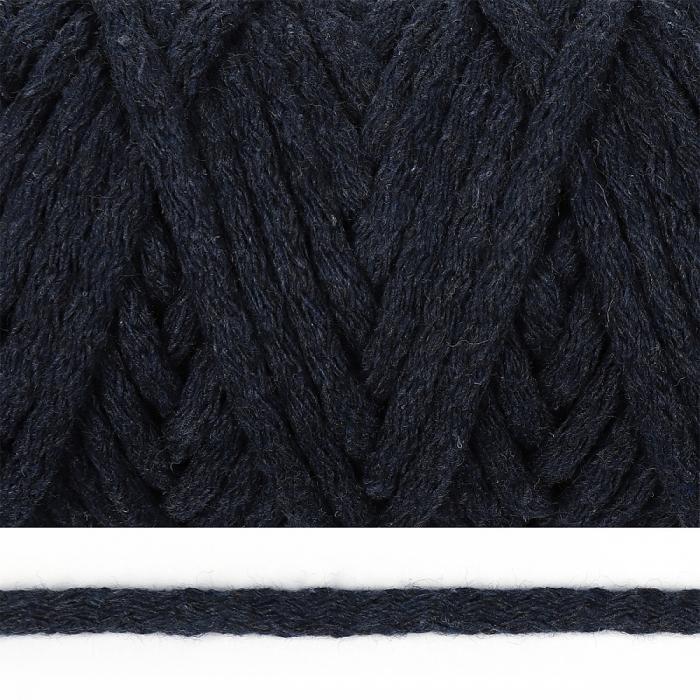 Шнур круглый х/б 05мм цв.2109 т.джинс уп.50м