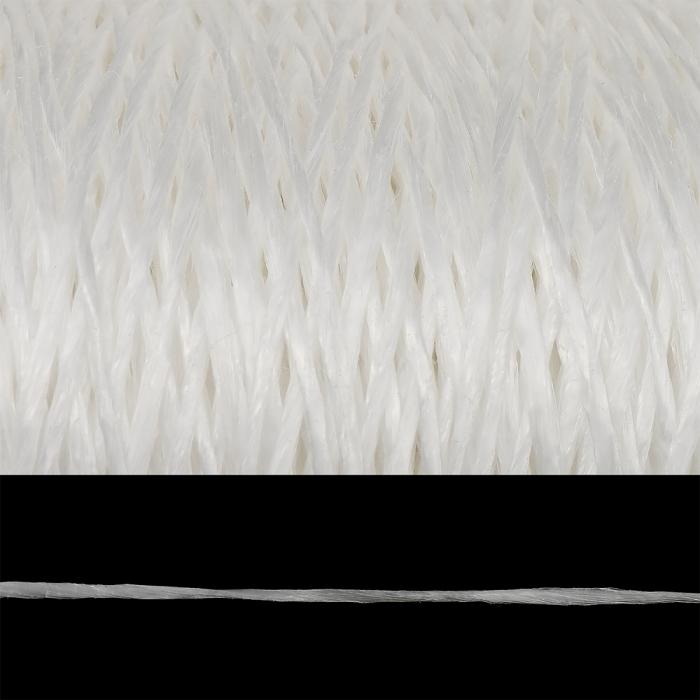 Шпагат полипропиленовый 1000 Текс клубок цв.белый уп.170гр