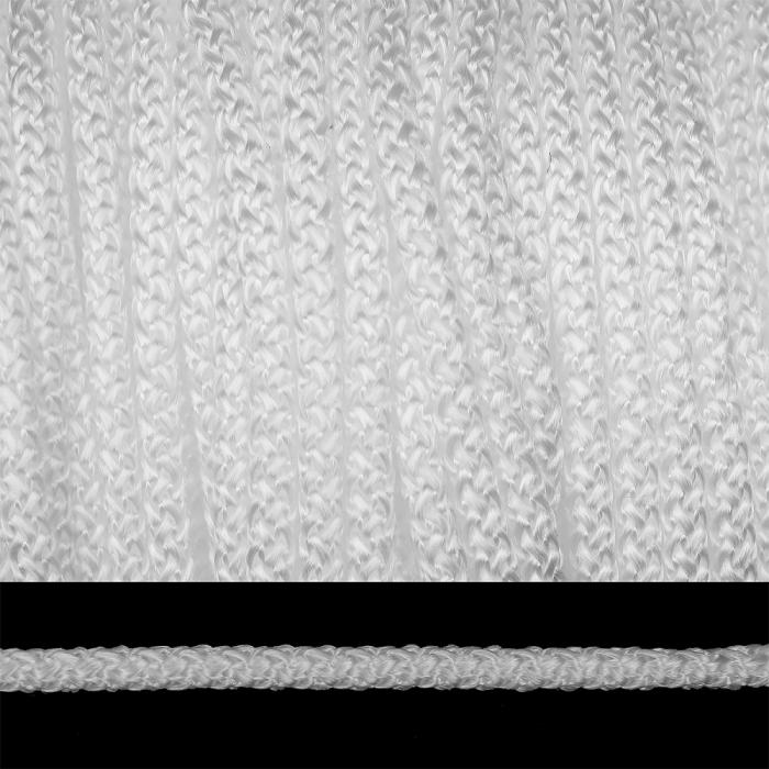 Шнур круглый полипропилен 06мм арт.ЭЛШХ-06мм цв.белый уп.200м