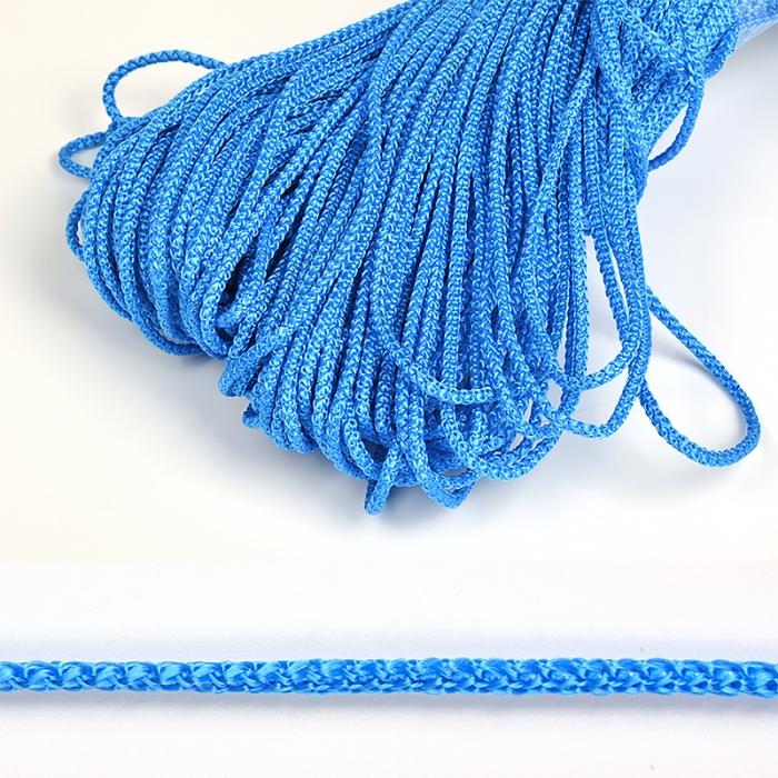Шнур круглый полипропилен 03мм цв.синий уп.100м