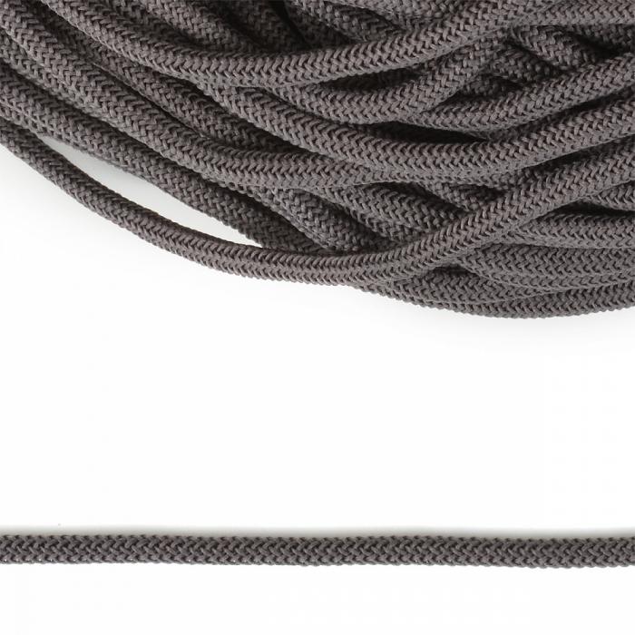 Шнур круглый полиэфир 04мм арт. 1с-36 цв.041 т.серый уп.200м