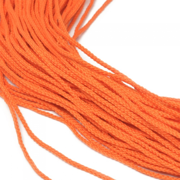 Шнур для мокасин, 1с-16, 1.5мм, цв. люм. оранжевый