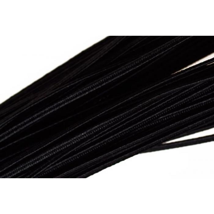 """Шнур отделочный 1с13 """"Сутаж"""" 1,8мм цв.черный уп.20м"""