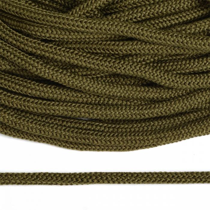 Шнур круглый полиэфир 04мм арт. 1с-36 цв.096 хаки уп.200м
