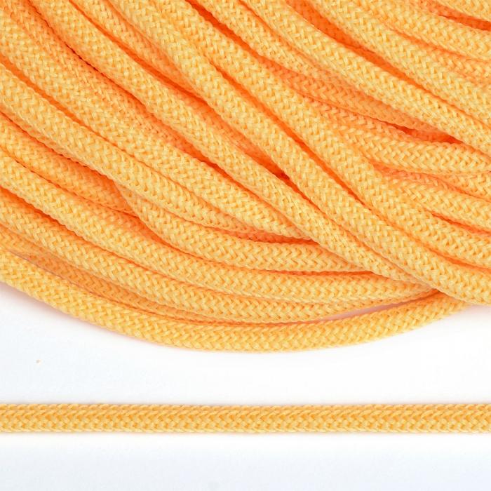 Шнур круглый полиэфир 04мм арт. 1с-36 цв.026 желтый уп.200м
