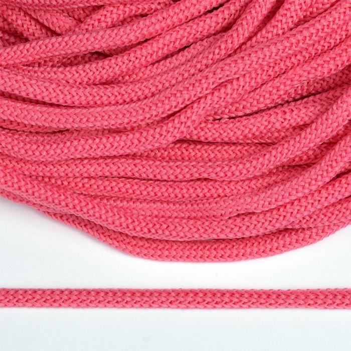 Шнур круглый полиэфир 04мм арт. 1с-36 цв.091 т.розовый уп.200м