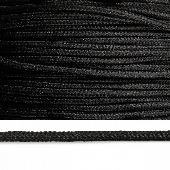 Веревка полипропилен 06мм цв.черный уп.200м