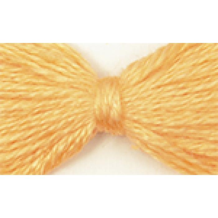 Нитки мулине цв.0604 бл.оранжевый 12х10м С-Пб