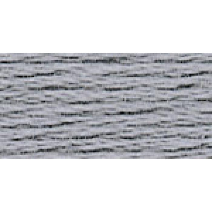 Нитки для вышивания Gamma мулине (3173-6115) 100% хлопок 24 x 8 м цв.3257 серый