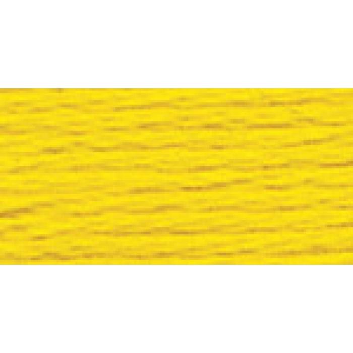 Нитки для вышивания Gamma мулине (0207-0819) 100% хлопок 24 x 8 м цв.0516 желтый