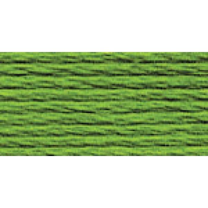 Нитки для вышивания Gamma мулине (3071-3172) 100% хлопок 24 x 8 м цв.3160 ярк.зеленый