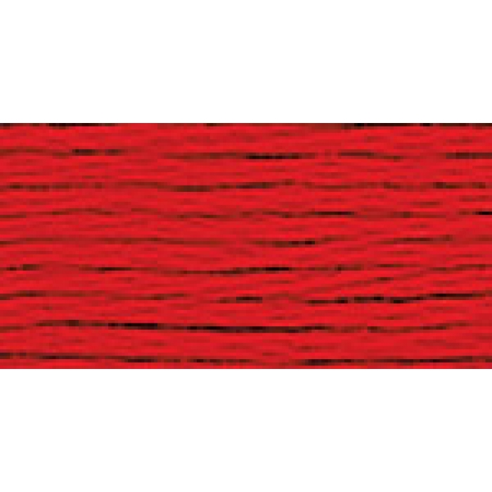 Нитки для вышивания Gamma мулине (0001-0206) 100% хлопок 24 x 8 м цв.0012 алый