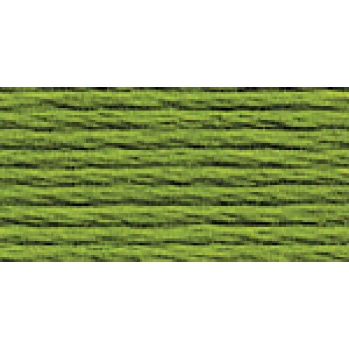 Нитки для вышивания Gamma мулине (3071-3172) 100% хлопок 24 x 8 м цв.3161 бл.хаки