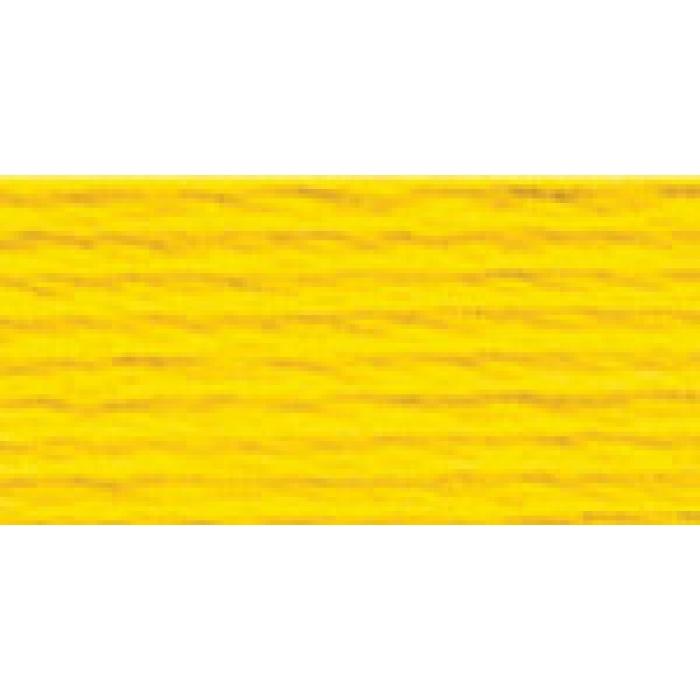 Нитки для вышивания Gamma мулине (3173-6115) 100% хлопок 24 x 8 м цв.5181 насыщенный желтый