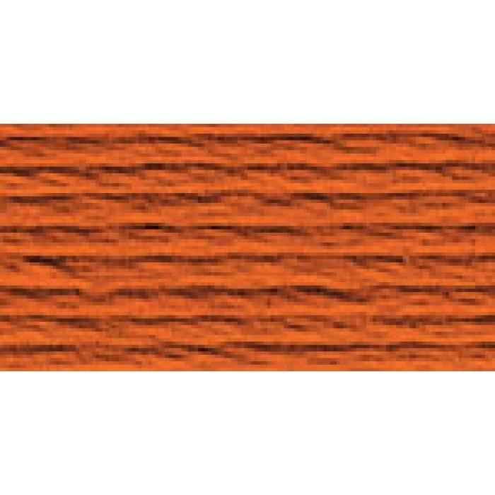 Нитки для вышивания Gamma мулине (3173-6115) 100% хлопок 24 x 8 м цв.3201 св.красный