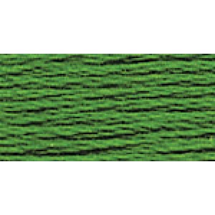 Нитки для вышивания Gamma мулине (0001-0206) 100% хлопок 24 x 8 м цв.0030 травяной