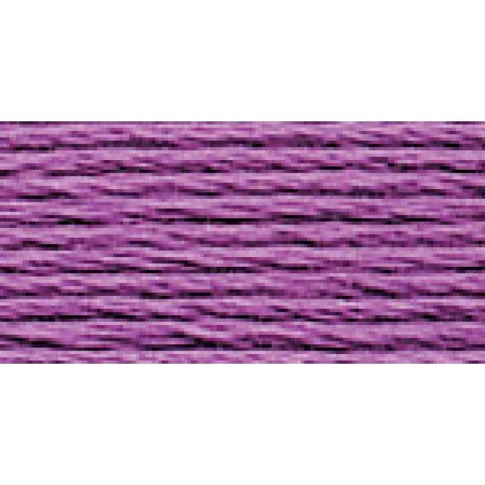 Нитки для вышивания Gamma мулине (0001-0206) 100% хлопок 24 x 8 м цв.0074 сиреневый