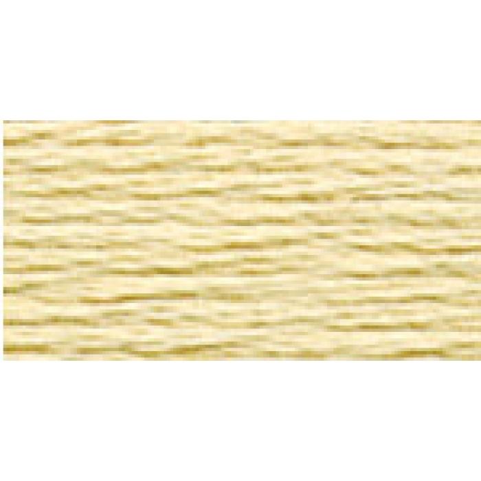 Нитки для вышивания Gamma мулине (0820-3070) 100% хлопок 24 x 8 м цв.2125 св.-золотистый
