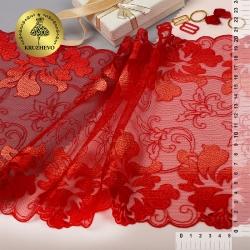 Вышивка на сетке бельевая
