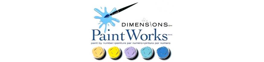 Раскраски по номерам Dimensions