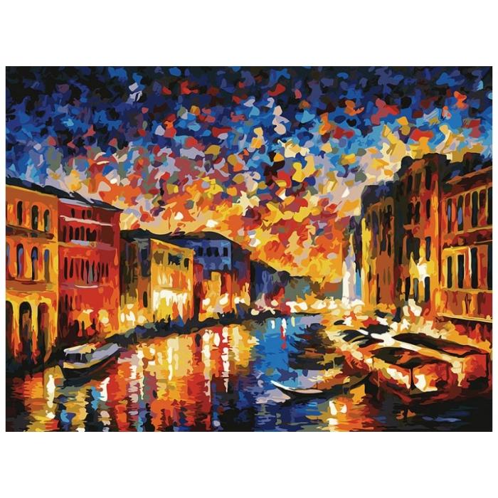 Живопись на картоне Белоснежка арт.БЛ.3024-CS Гранд-Канал Венеция 30х40 см