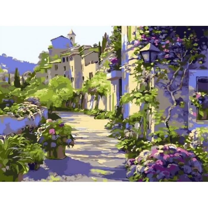 Картины по номерам Бургундия EX5357 30х40 тм Цветной