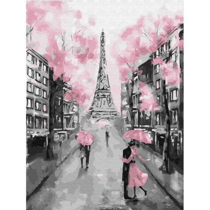 Картины по номерам Гламурный Париж EX6257 30х40 тм Цветной