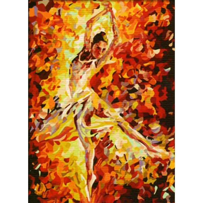 Картины по номерам Балерина ME042 30х40 тм Цветной