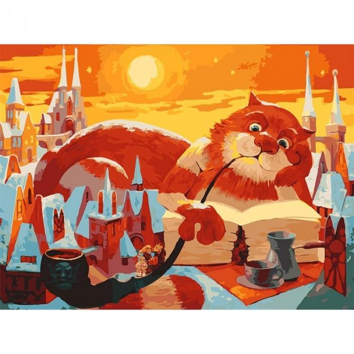 Картины по номерам Белоснежка арт.БЛ.012-AB Вечерняя сказка 40х50 см